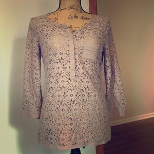 The Limited lace blouse, size XS
